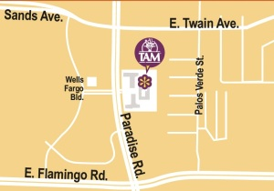 TAM Card Office Map