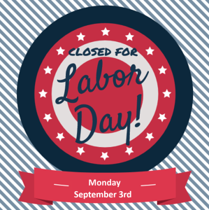 Labor Day Holiday Hours